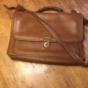 Vintage Coach Metropolitan Leather Briefcase